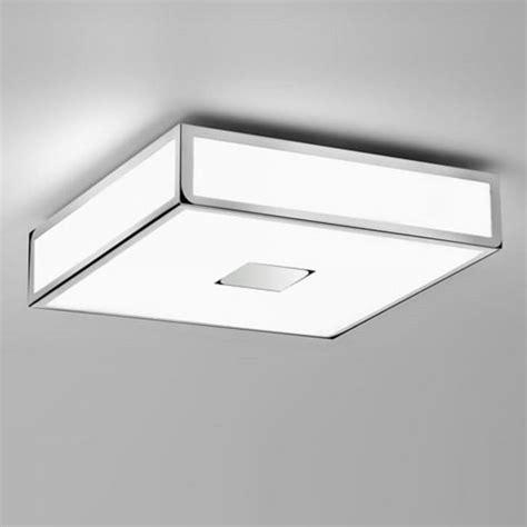 medium bathroom flush mount light ceiling fitting class 11 insulated bathroom ceiling light square chrome ip44