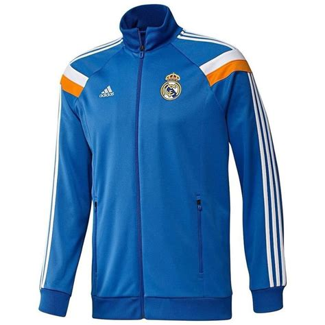 Jaket Logo Real Madrid adidas real madrid spain track jersey jacket climalite soccer sweat shirt mens m in clothing