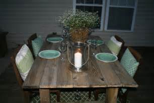 Rustic Outdoor Dining Table Dining Table Rustic Dining Table Diy