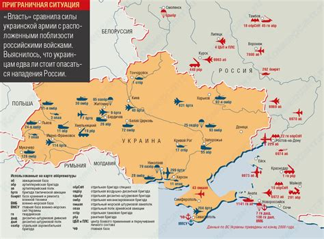 map ukraine and russia the aviationist 187 map ukrainian bases and