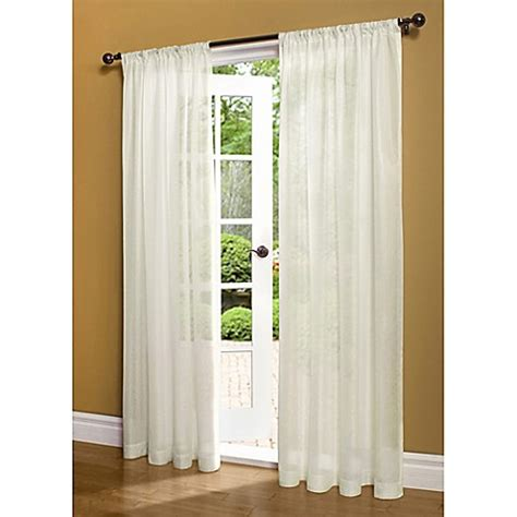72 inch curtains window treatments buy commonwealth home fashions weathershield 72 inch rod