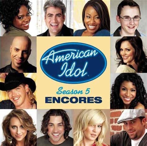 Cd Va Best Idol american idol season 5 encores mp3 musictoday superstore