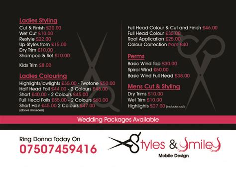 Mobile Hair Dressers by Styles And Smiles Mobile Hair Dresser Mobile Hairdresser