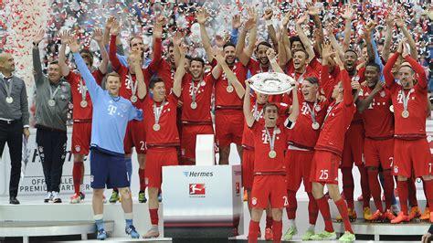 german champion season  fc bayern munich