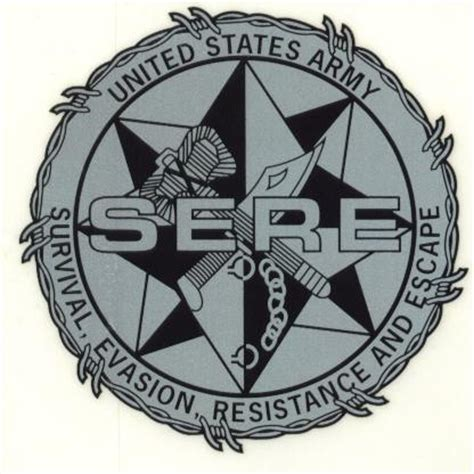 sere survival evasion resistance and escape volume 1 books survival evasion resistance and escape sere decal