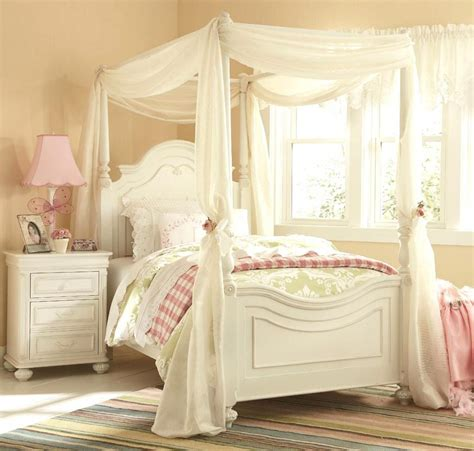 girls canopy bedroom set enchanting girls white bedroom furniture with whtie