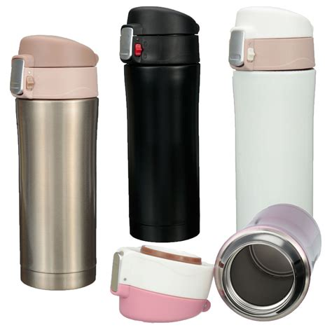 Sale 350ml Animal Stainless Steel Thermos travel mug office tea coffee water cup bottle stainless steel thermos cup 350ml black lazada ph