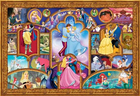 Best Terlaris Puzzle Jigsaw Disney Princess Panorama 1000 Pcs Sni 2000xl disney princess jigsaw puzzle puzzlewarehouse
