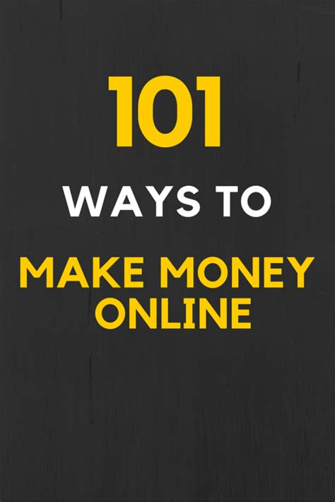 Guaranteed Ways To Make Money Online - how to earn money online 100 ways to make money from home in 2016