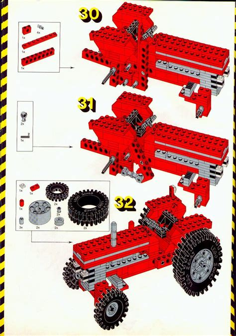 lego tractor tutorial 10 best chrisi images on pinterest lego instructions