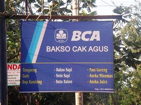 lucu puooll tulisan spanduk warung  indonesia