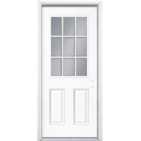 30 Inch Exterior Door Lowes 30 Inch Exterior Door Lowes Shop Milliken Resistant Flush Prehung Inswing Steel Entry Door