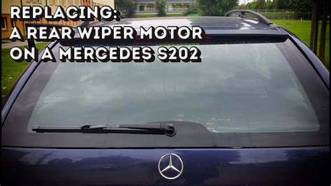 repair windshield wipe control 1992 dodge stealth security system how to change wipe motor of 1997 mercedes benz e class how to install replace windshield wiper
