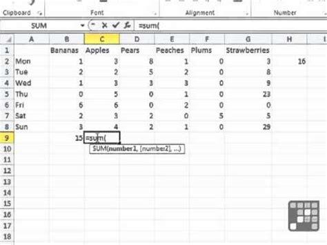 excel 2010 cube tutorial intro to excel formulas mircosoft excel 2010 tutorial