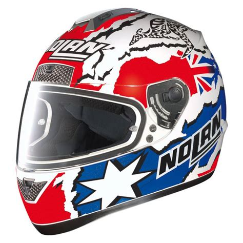 Helm Nolan N63 Melandri nolan n63 gemini casey stoner chion helmets