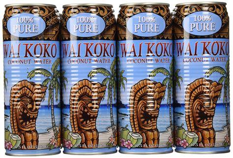 Koko Zico wai koko coconut water kona mocha 17 5