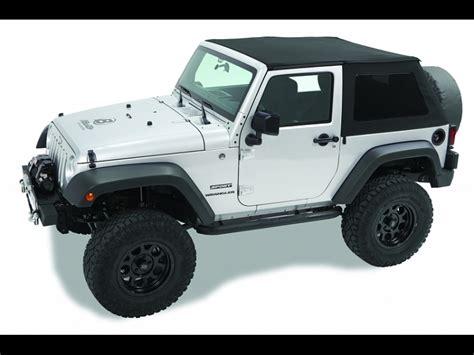 Best Top Jeep Jk Bestop Jeep Jk 2 Door Trektop Nx Black Twill Fabric