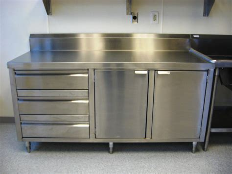 Metal Kitchen Furniture Best Stainless Steel Kitchen Cabinets Derektime Design Stainless Steel Kitchen Cabinets Ideas