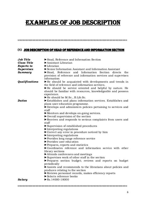 layout man job description job description and job specification