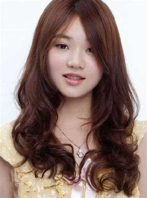 hairstyle for long face korean 15 collection of korean hairstyle with round face