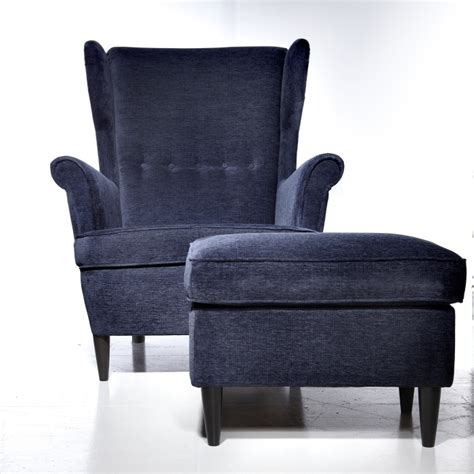 Strandmon Chair use the strandmon wing chair to inspire comfort and luxury this living and dining