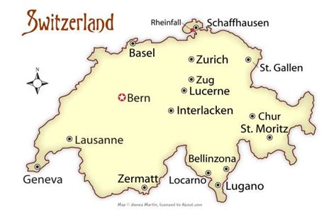 major cities in switzerland map 25 best ideas about switzerland cities on