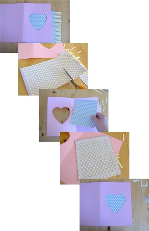 Things Using Paper - things to make and do make a greetings card by weaving paper