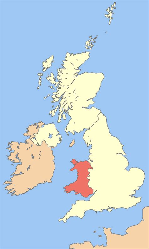 map uk and wales file uk map wales png