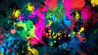 colorful paint splatter wallpapers first hd wallpapers