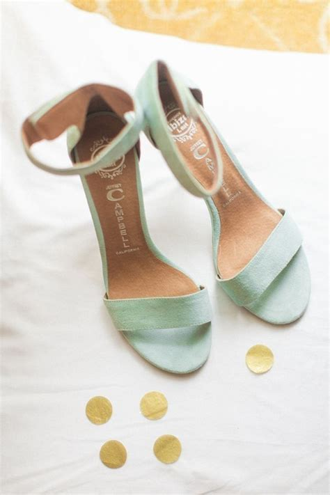 mint color wedding shoes mint wedding