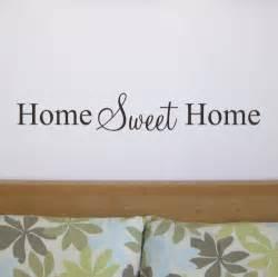 Home Wall Stickers Quotes Wall Stickers Home Sweet Home Kisekae Rakuen Com