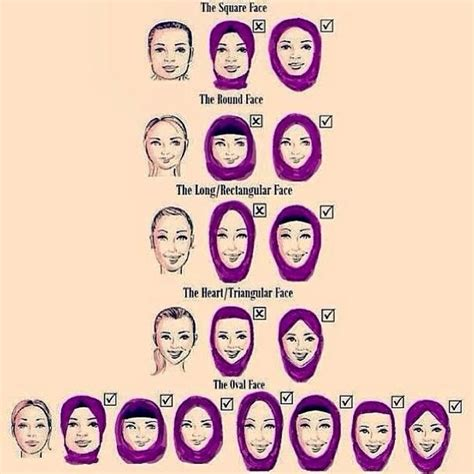 hairstyles for different faces how to do hijab style im different face and shapes