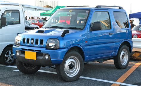 Types Of Suzuki File Suzuki Jimny Jb23 001 Jpg Wikimedia Commons