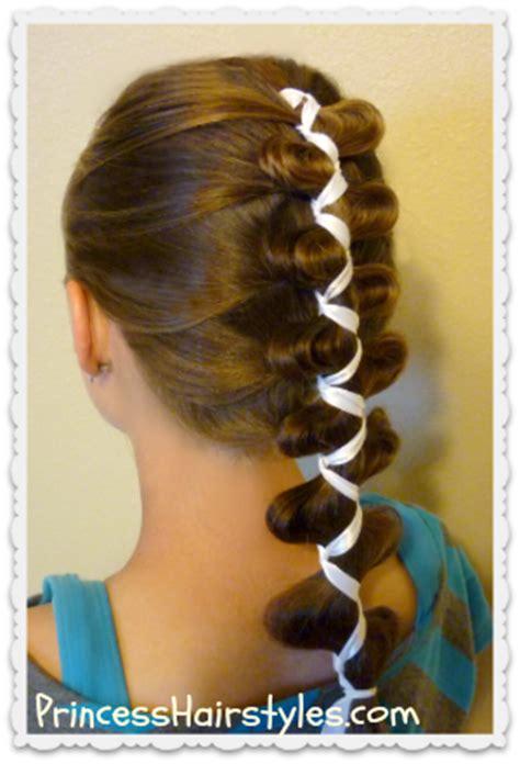 french (dutch) loony ribbon braid, cute hairstyles