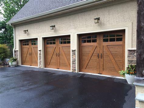 door sales wooden garage brick home