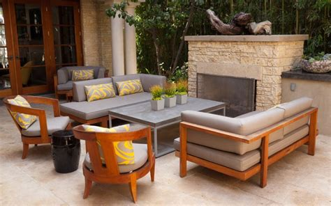outdoor fireplace furniture how to care for teak furniture so it lasts for generations