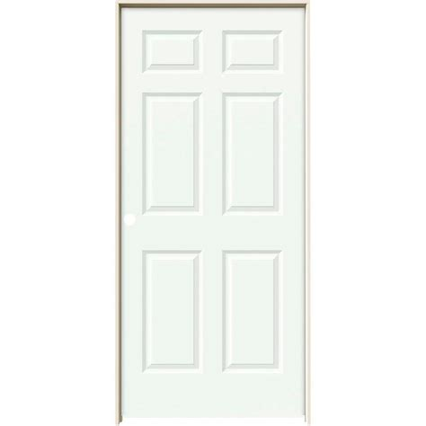 masonite 36 in x 80 in mdf series smooth 5 panel equal masonite 36 in x 80 in mdf series 1 panel left handed