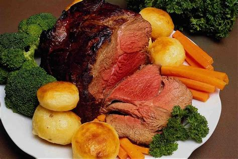 beef dinner foods recipes traditional roast beef recipes for