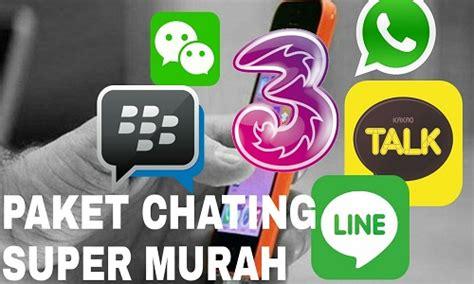 tri gratis internet 2018 cara daftar paket chatting 3 tri sebulan 5000 unlimited
