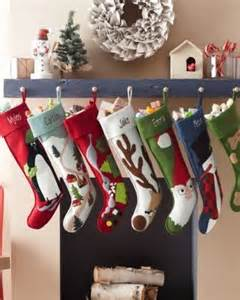 Hable christmas stockings contemporary christmas stockings and holders