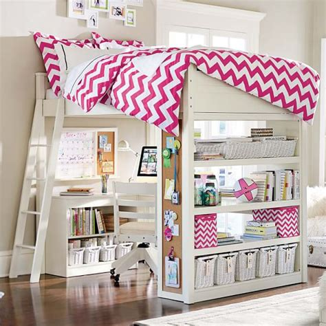 Sleep Study 174 Loft Pbteen Study Loft Bunk Bed