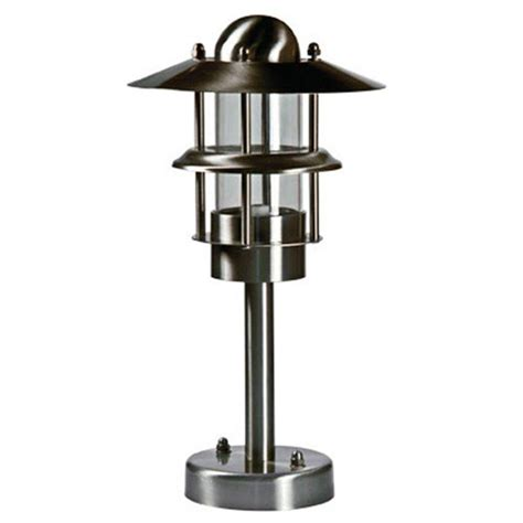 Filament Design Ayan 1 Light Stainless Steel Outdoor Stainless Steel Landscape Lighting