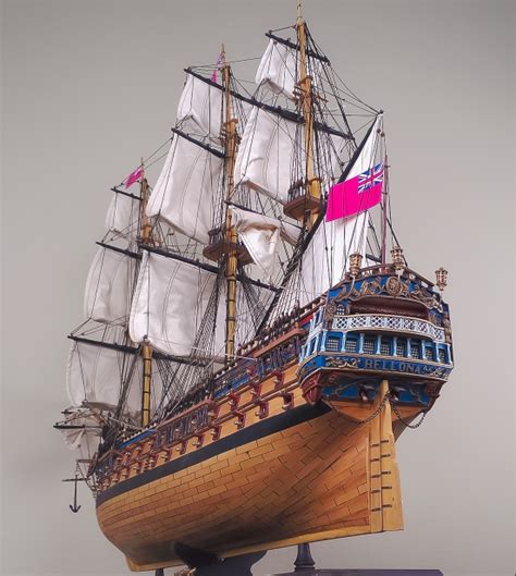 ship greyhound hms bellona 48 quot wood model ship large scale sailing tall