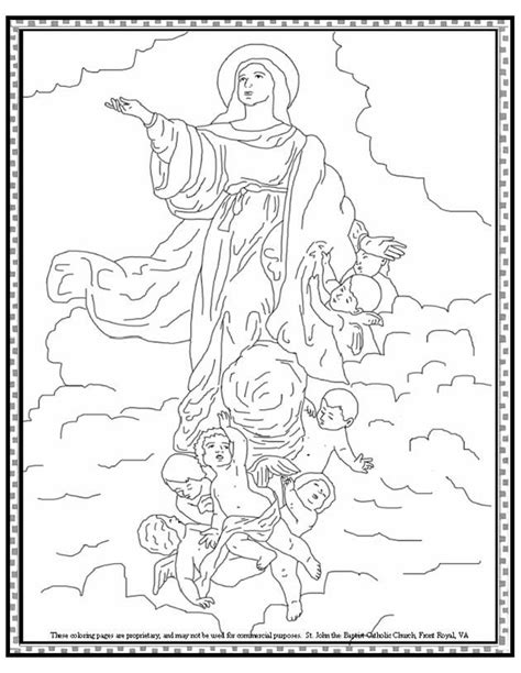 coloring page of heaven coloring home