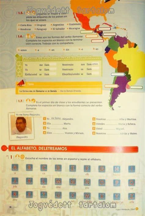 nuevo prisma curso de nuevo prisma nivel a1 curso de espanol para extranjeros libro del alumno con cd audio