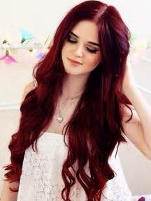 Dark red hair on pinterest bright red hair burgundy hair and red