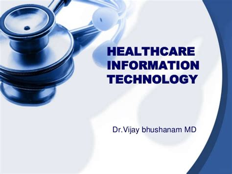 health care information healthcare information technology