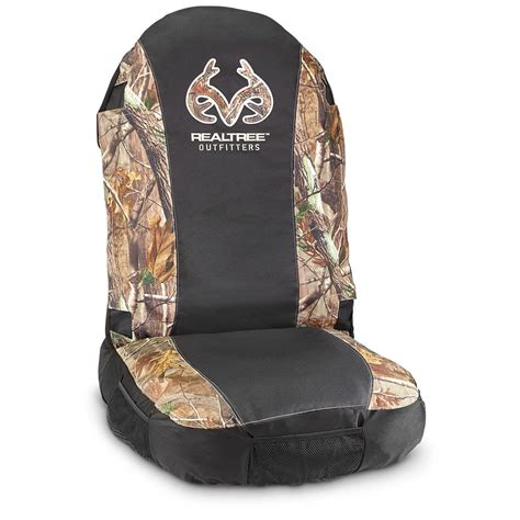 realtree camo seat covers canada realtree universal all purpose seat cover 656550 seat