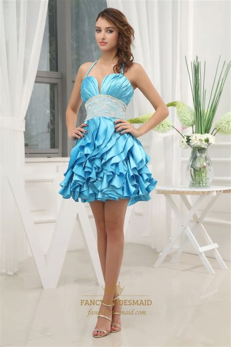 Dress Ruffel by Empire Waist Layered Ruffle Dress Prom Dress