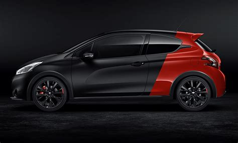 peugeot 208 gti 30th anniversary peugeot 208 gti 30th anniversary car review technology